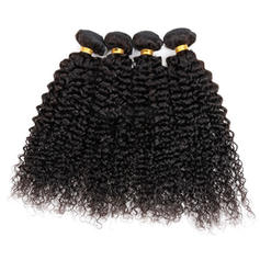 4A Kinky Curly Human Hair Human Hair Weave (Sold in a single piece) 50g