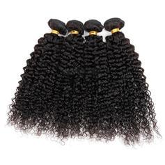 4A Kinky Curly människohår Våg av människohår (Säljs i ett enda stycke) 50g