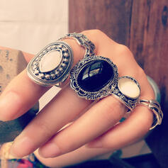 Cea mai tare Extravagant Aliaj Seturi de bijuterii Inele (Set of 5 pairs)