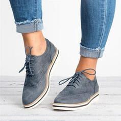 PU Flat Heel Flats met Vastrijgen schoenen