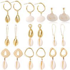 Enestående Udsøgt Stilfuld Legering Tekstil øreringe Strand smykker