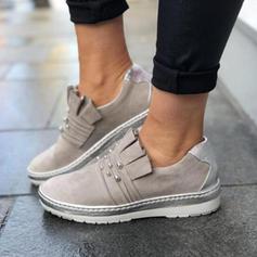 De mujer PU Casual al aire libre Atlético Excursionismo con Cuentas zapatos