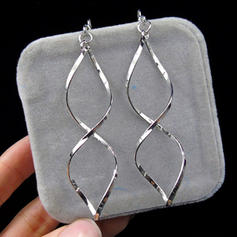 Simple Alloy Ladies' Earrings