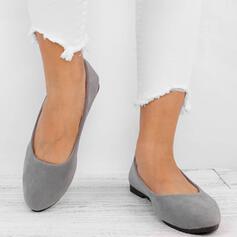 De mujer Lona Tacón plano Planos Dedo del pie puntiagudo zapatos