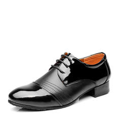 Men's Latin Real Leather With Lace-up Ballroom