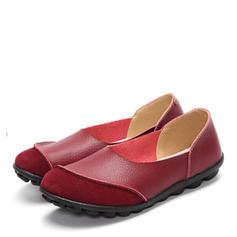 Donna Vera pelle Senza tacco Ballerine con Altrui scarpe