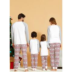 Renifer List Rodzinne Dopasowanie Świąteczne piżamy