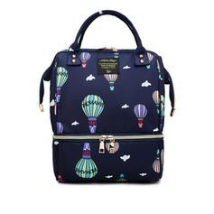 Color de empalme/Viajar/Bolso de mamá Mochilas