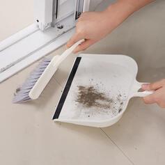 Modern Polyester Brush & Dustpan