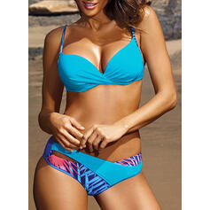 Low Waist Patchwork Strap Sexy Bikinis Swimsuits