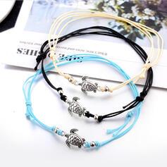 élégant Charme Alliage Bracelets de cheville (Lot de 3)