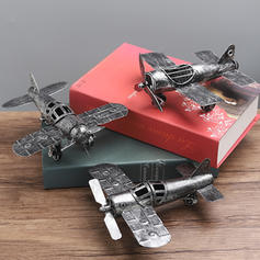 Vintage Alloy Airplane Model Cars & Vehicles