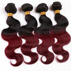 4A Tělo Lidský vlas Vlnité pravé vlasy (Prodává se jako jeden kus) 100g