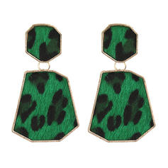 Leopard Alloy Women's Earrings