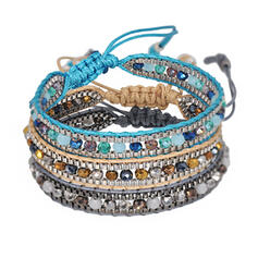 élégant Alliage Résine Bracelets