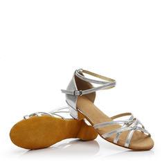 Kinder Latin Flache Schuhe Kunstleder Latin