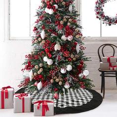 god jul Ikke-vevd stoff Juletre skjørt