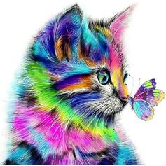 Animal Lovely 5D Decoração de Natal Resina Pintura diamante