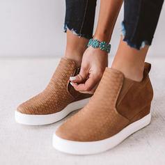 De mujer PU Casual al aire libre con Cremallera zapatos