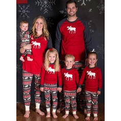 Reindeer Matching Family Christmas Pajamas