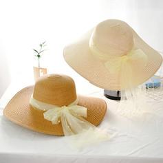 Ladies' Beautiful With Bowknot Beach/Sun Hats