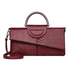 Classical PU Clutches/Shoulder Bags/Wallets & Wristlets