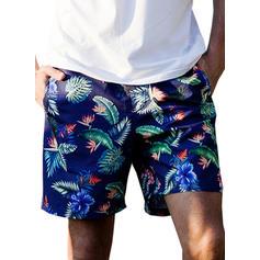 Men's Leaves Board Shorts