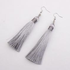 Alloy With Tassels Women's Earrings