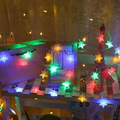 vrolijk kerstfeest Ster PVC Lichten Kerstdecoratie