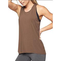 U-Neck Sleeveless Sports Sweatshirts