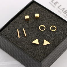 Charme Le plus chaud Alliage Parures Boucles d'oreilles (Lot de 4)