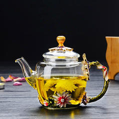 Classic Simple Glass Teapot