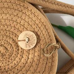 Classica/Stile vintage/Stile boemo/intrecciato Borse di tela/Borse a tracolla/Borse a tracolla/Borse da spiaggia
