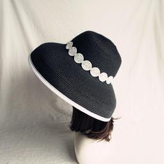 Señoras' Caliente Paja salada/Pp Sombrero de paja/Sombreros Playa / Sol