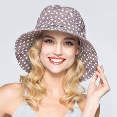 Senhoras Bonito Poliéster Chapéu de Coco / Cloche de Chapéu