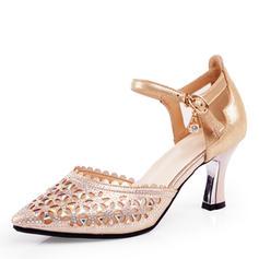 Women's Latin Heels Leatherette Latin