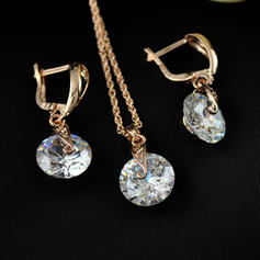 Nice Zircon Copper Women's Jewelry Sets