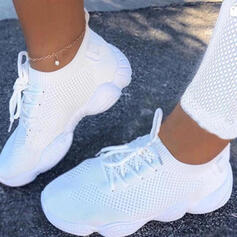 Women's Mesh Casual Athletic With Lace-up shoes