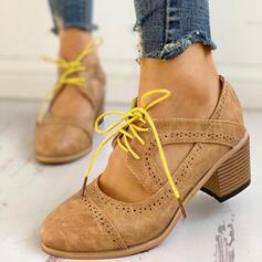 Femmes PU Talon bottier Escarpins avec Dentelle chaussures