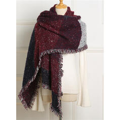 Solid Color/Stitching Oversized/fashion/Comfortable Scarf