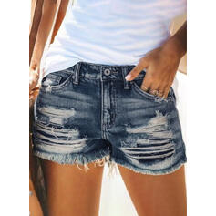 Rasgada Juan Pantalones cortos