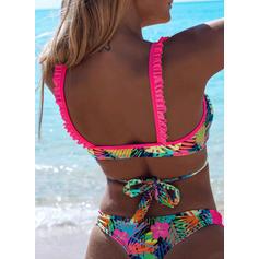 Floral Low Waist Strap Sexy Beautiful Cute Bikinis Swimsuits