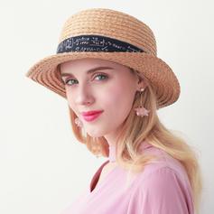 Жіночі Ручна робота/Гарячі Солома Солом'яний капелюх/Пляжні/сонцезахисні шапки