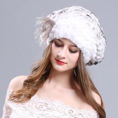 Señoras' Maravilloso/Elegante poliéster/Acrílico Gorrita tejida / holgado