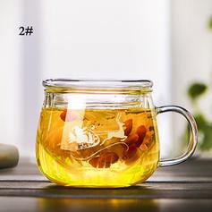 Christmas Glass Teapot