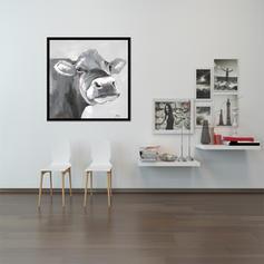 Modern Dikdörtgen Hayvan Resimleri