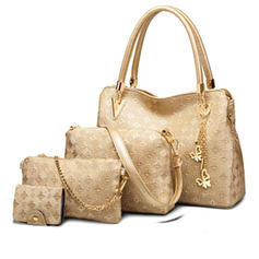 Elegant PU Satchel/Tote Bags/Shoulder Bags/Bag Sets/Wallets & Wristlets
