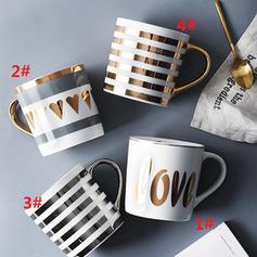 Modern Classic Simple Ceramic Coffee Mugs