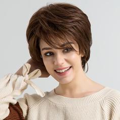 Volný splývavý Mix pravých vlasů Paruky z pravých vlasů 80g