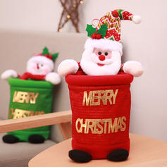Merry Christmas Snowman Santa Gift Bag Non-Woven Fabric Doll Christmas Décor Apple Bags